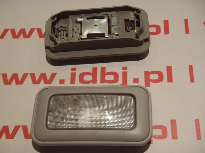 Lampa Oświetlenia Wnętrza Kabiny Sufitowa Fiat Szara Z Ramką